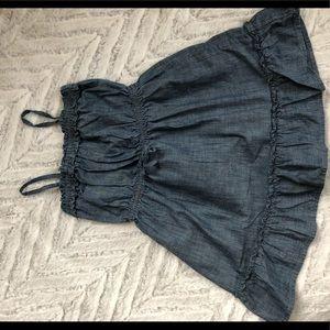GAP Dresses - NEW GAP jean sundress 3T